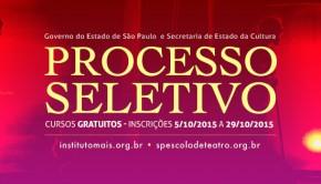 2Face Capa Cartaz Processo Seletivo 2015-3 A3