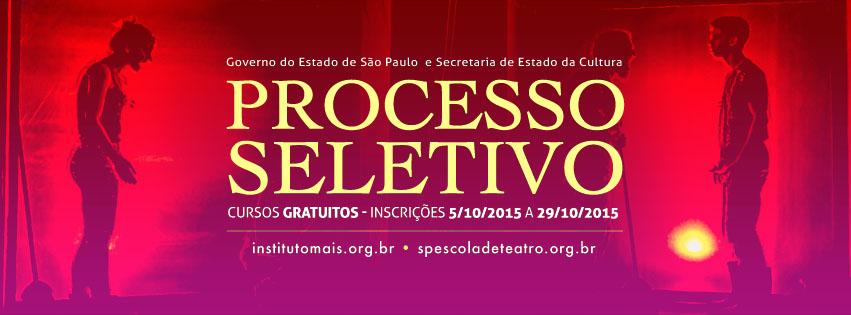 SP Escola de Teatro abre inscrições para processo seletivo de Cursos Regulares