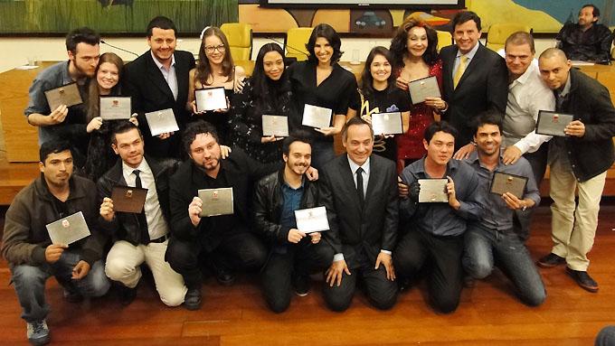 Companhia de Teatro Os Satyros recebe Salva de Prata na Câmara