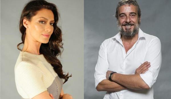 Os atores Maria Fernanda Cândido e Alexandre Borges
