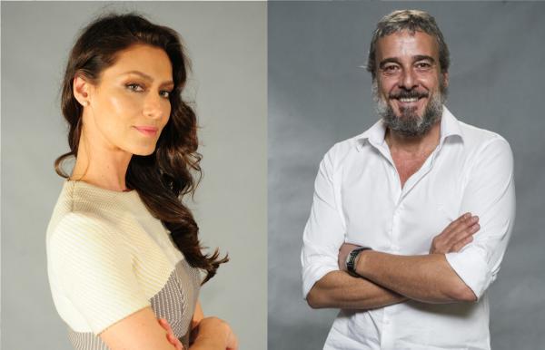 Maria Fernanda Cândido e Alexandre Borges participam de evento da SP Escola de Teatro