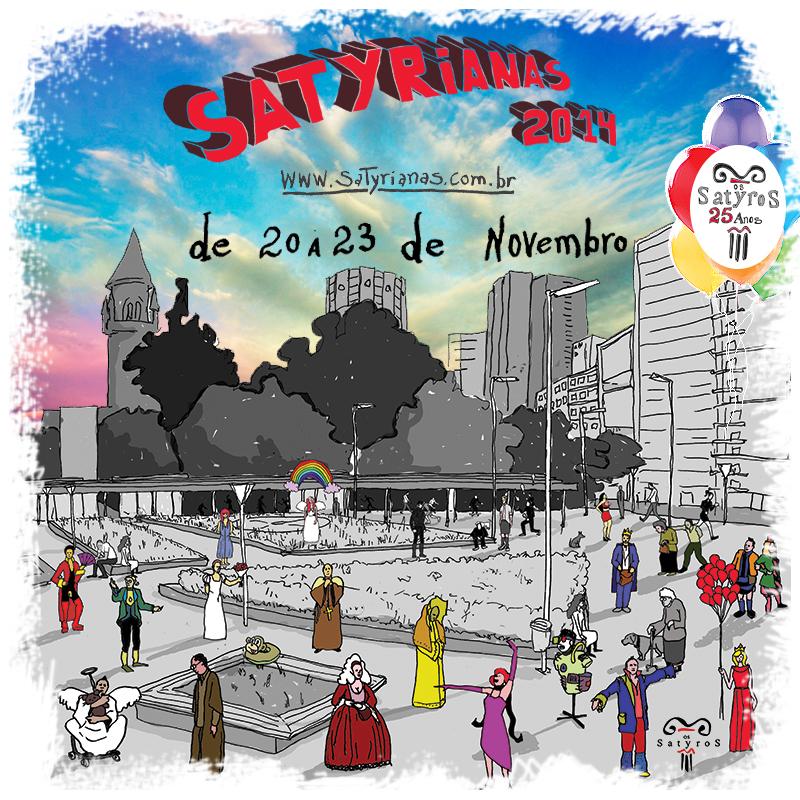 Cia de Teatro Satyros comemora 25 anos com evento que instiga a cultura teatral na sociedade