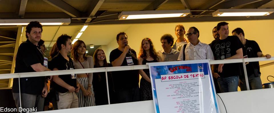 Balanço da Satyrianas 2014 no portal da SP Escola de Teatro