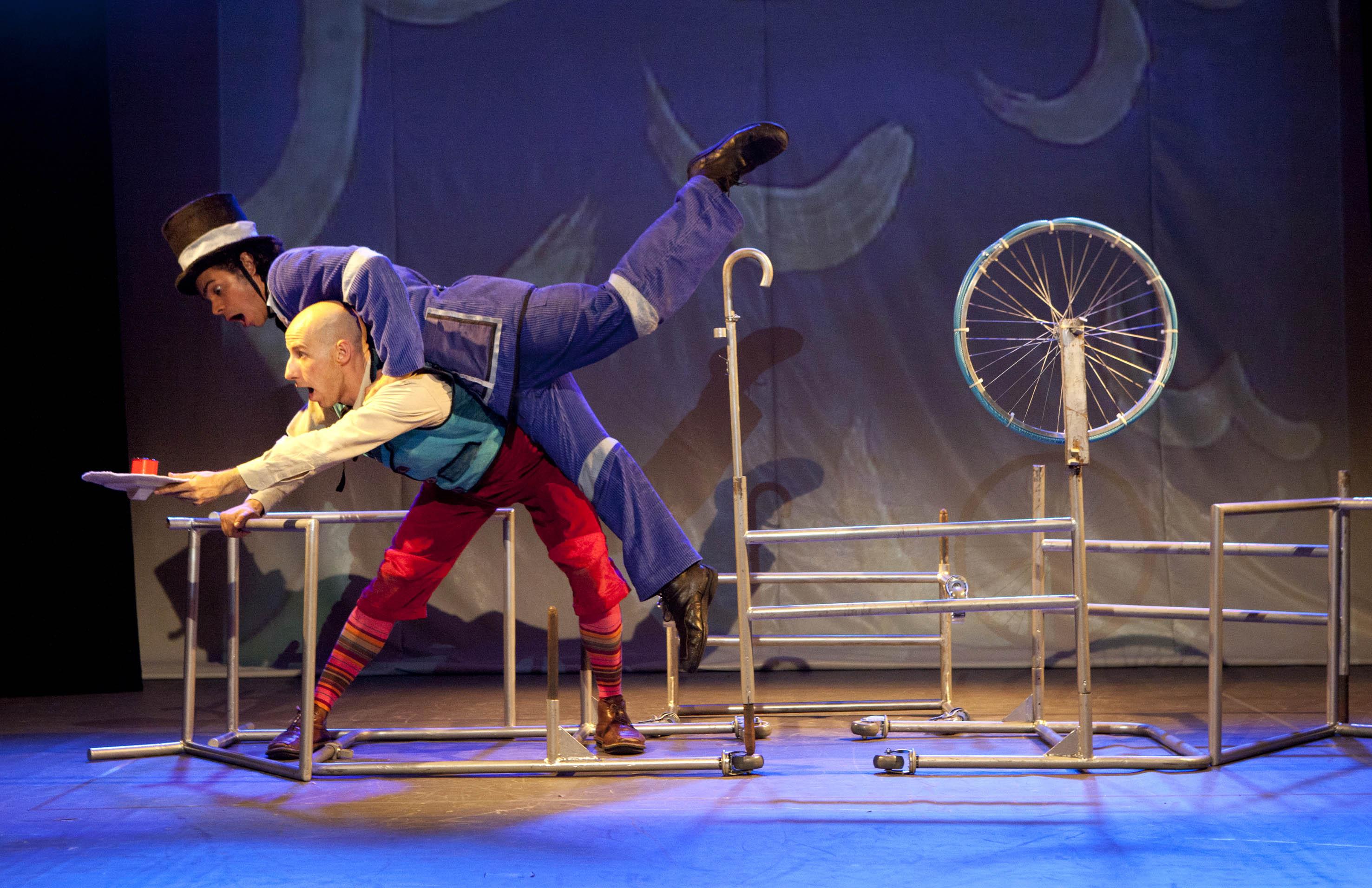 SP Escola de Teatro abre Curso de Extensão para orientar artistas em seus números circenses