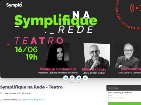DEBATE | O Symplifique na Rede é hoje, 16/06, às 19h