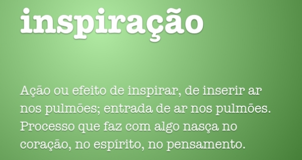 PROCESSO CRIATIVO | Inspiração