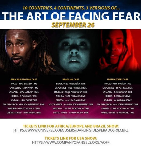 Special Event THE ART OF FACING FEAR Announced September 26