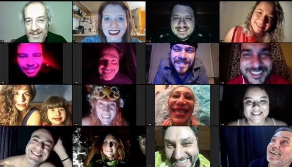 BLOG DO ARCANJO | Satyros faz história com peça digital em 3 continentes no mesmo dia