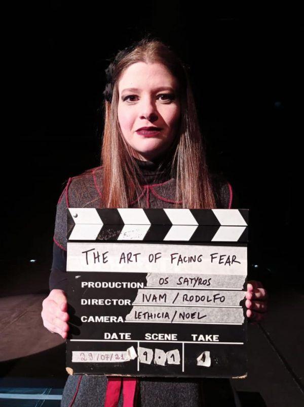 MEMÓRIA | Filmagem de The Art of Facing Fear