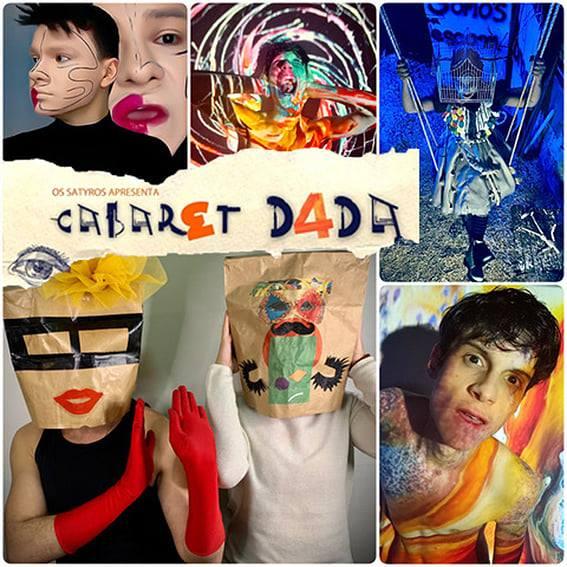 CABARET DADA | Cia Os Satyros estreia o espetáculo online e ao vivo