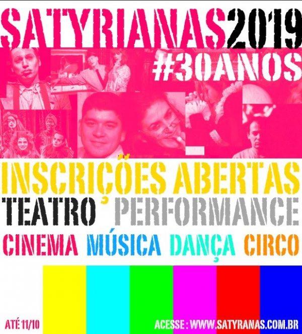 SATYRIANAS 2019 | #SATYROS30ANOS