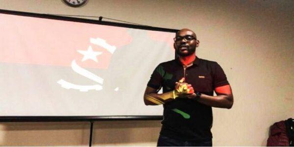 """REPERCUSSÃO: ANGOLA   Actor angolano participa na peça """"The art of facing fear"""" nos EUA"""
