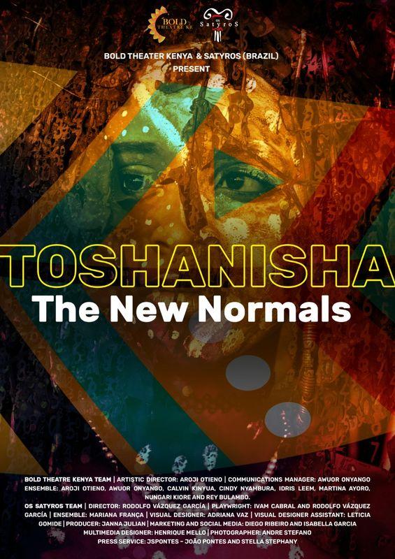 SATYROS & BOLD THEATRE KENYA | Toshanisha – The New Normals no Hollywood Fringe Festival