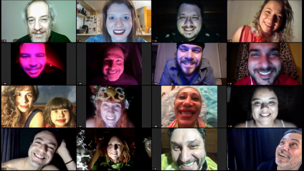 Rapidinhas: Satyros é 1º grupo a estrear teatro online com grande elenco
